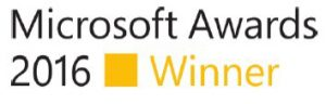 MICROSOFT AWARDS 2016